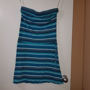 Strapless Roxy Summer Dress size Large